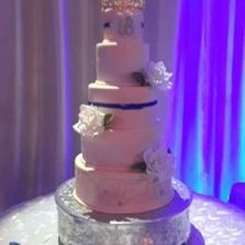 Photo for M&T Events Custom cakes Review - Our wedding cake! Cherry pucker and Amaretto