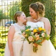 Photo for Babydoll Weddings- Wedding Makeup, Airbrush, Hair Updo or Style, Tattoo Cover Up Review - Jessica & Keira