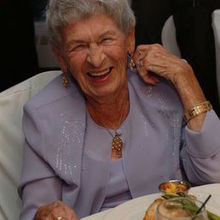 Photo of Jorg Windau Photography in New York, NY - My Grandma laughing. This WAS her!