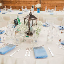 Photo for Flowers by Liz Review - Other table arrangement (baby's breath and candle)