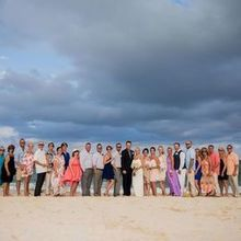 Photo for Officiant Rev. Mary-Rose of Engle Heart Ceremonies Review - One big happy family - Cancun Mexico