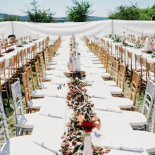 Photo for Willamette Wedding and Events Review - These gold and silver chairs added the perfect touch!