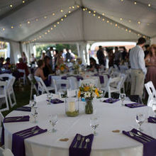 Photo of Celebrations! Party Rentals and Tents in Roseville, CA - A look inside the tent we rented from Celebrations