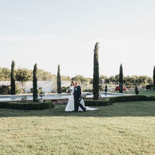 Photo for Thistlewood Manor & Gardens Review - The reflection pool makes for a great backdrop or ceremony.