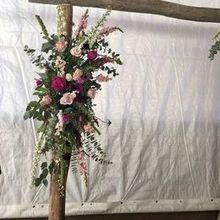 Photo for Hoopes Events Review - 8 ft. Wooden arch rented from Hoopes (not including flowers)
