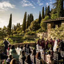 Photo for SposiamoVi - Italian Wedding Planners Review - Our wedding party during the ceremony at Villa Le Fontanelle