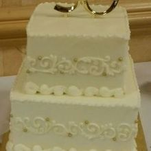 Photo for TASTY LAYERS, LLC Review - 50th Wedding Anniversary Cake!