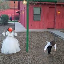 Photo of The Windmill Winery in Florence, AZ - Play area - when the flower girl & ring bearer need a break.