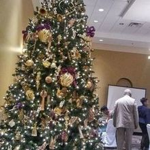 Photo for Holy Trinity Reception Center Review - Beautiful Christmas tree