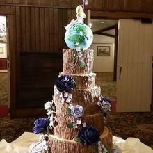 "Photo of RL Cake Designs, LLC in Southampton, PA - Atop the ""tree of life"" sat the globe that spun all night."