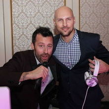 Photo of Spinners Entertainment in Wayne, NJ - Jay Della Valle & Kevin Walters (MC/DJ team)