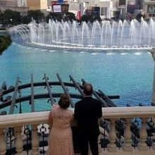 Photo of Bellagio Weddings in Las Vegas, NV - Fountain View