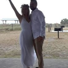Photo for Beach Beginnings Weddings & Events Review - **Not a professional photo, one from someone's cell phone**