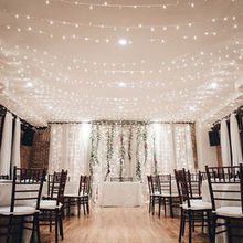 Photo of Deity Weddings, Event Planning, Catering in Brooklyn, NY - Upstairs Dining room/ceremony space