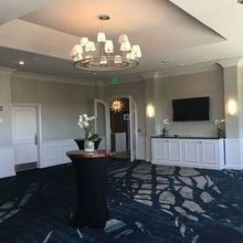 Photo of Centre Club in Tampa, FL - Room with the reception bar and our Photobooth