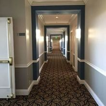Photo of Centre Club in Tampa, FL - Hallway, we lined up for ceremony and reception entrances