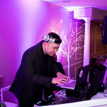 Photo for V3 Entertainment DJ and Photo Booth Review - Van enjoying what he does best!