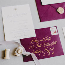 Photo of Ettie Kim Calligraphy & Design in Philadelphia, PA - Such incredible work on our invitation suite!