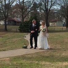 "Photo of The Oaks at Salem in Apex, NC - The Walk before ""I do"""