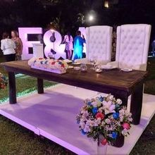 Photo for Bodas Huatulco Review - Our bride and groom table nicely decorated