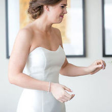 Photo for Bloomin' Bouquets Review - This is our bride seeing her bouquet for the first time!