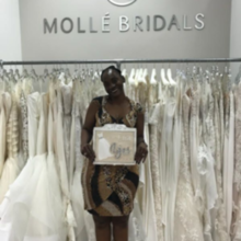 "Photo for Molle Bridals Review - I said ""Yes to the Dress"" at Molle's Bride!!!"