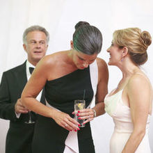 Photo of CHERYL RICHARDS in Boston, MA - Some last-minute advice from bride's BFF...