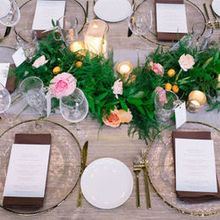 Photo of Nicole George Event Planning & Design in Long Beach, CA - We loved the organic elegance of our tables