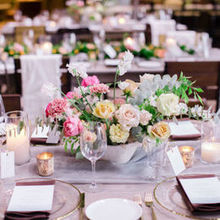 Photo of Nicole George Event Planning & Design in Long Beach, CA - Flowers and candles for days