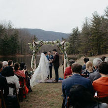 Photo of Montfair Resort Farm in Crozet, VA - We opted to have our ceremony by the water.