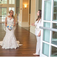 Photo of At Last Wedding + Event Design in Naples, FL - Jaclyn in action... thank you!