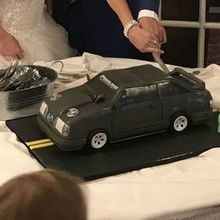 Photo for Who Made the Cake! Review -  Cant see it, but they also made a replica of his tool box