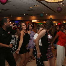 Photo for Detroit DJ Entertainment LLC. Review - Chuck leading everyone on the dance floor!