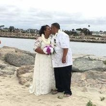 Photo for Great Officiants Review - Married on the beach.