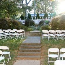 Photo of Middleburg Community Center in Middleburg, VA - Outdoor ceremony setup