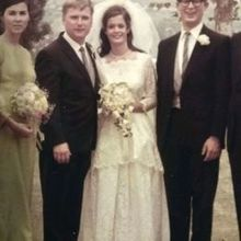 Photo for Deborah Lindquist Eco Couture Review - This is my mom and dad in their wedding day