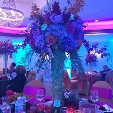Photo for Elite Entertainment Review - Our gorgeous jewel toned floral centerpieces