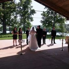 Photo of Four Rivers Environmental Education Center in Channahon, IL - Wedding Ceremony at the Pavilion