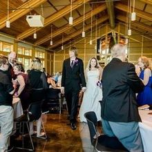 Photo of Four Rivers Environmental Education Center in Channahon, IL - Enter the Bride and Groom