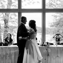 Photo of Four Rivers Environmental Education Center in Channahon, IL - The Bride dances with her Dad