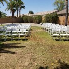 Photo for Y-Knot Party & Rentals Review - Rented chairs