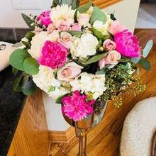 Photo for An English Garden Weddings & Events Review - My bouquet the next morning!  Still in love!
