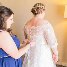 Photo of Babydoll Weddings- Wedding Makeup, Airbrush, Hair Updo or Style, Tattoo Cover Up in Mesa, AZ - MOH/Sister of the Bride and Bride