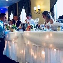 Photo of Rizzo's Malabar Inn in Crabtree, PA - Bridal Table in Use