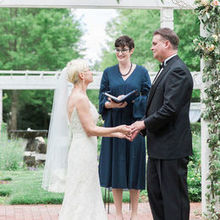 Photo of Leah Marie Photography + Stationery in Raleigh, NC - Officiating at the same wedding photo by Leah Marie Photogra