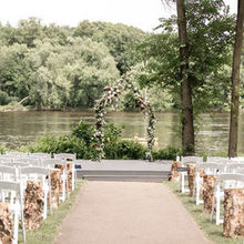 Photo for Leopold's Mississippi Gardens Review - Ceremony along the river