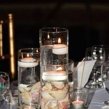 Photo for The Wedding Planner Plus Review - Simple, elegant centerpieces.