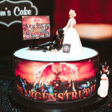 Photo for Wonder Cake Creations Review - Incredible video game themed groom's cake! He loved it!