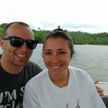 Photo for Unforgettable Honeymoons Review - Enjoying our boat ride to the island!