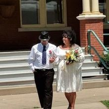 Photo of Adam Jamsa Wedding officiant / Reverend in Peoria, IL - Happiest wedding day ever💕